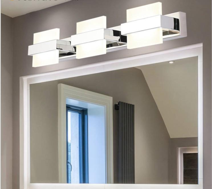 2/3/4 lights Bathroom Mirror Lamp Waterproof Cabinet Vanity Led Wall Light Modern