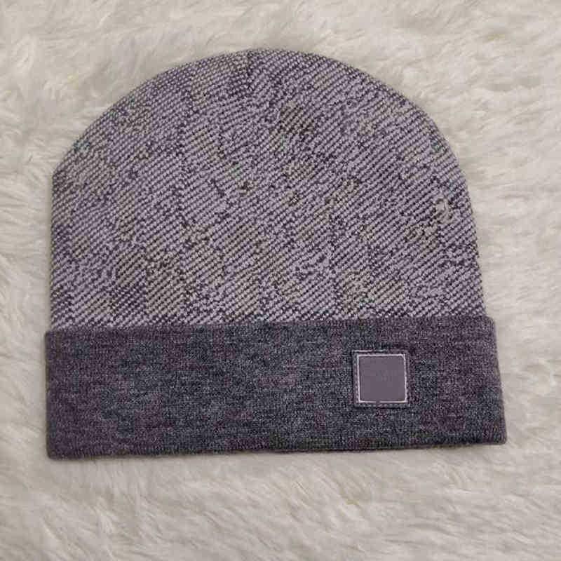 Бейсболка дизайнерский дизайнер вязаная шапка шансы мужские женские встроенные шапки унисекс для кашемировых клетчатых букв повседневные черепные колпачки открытый мода высокое качество 9 цветов