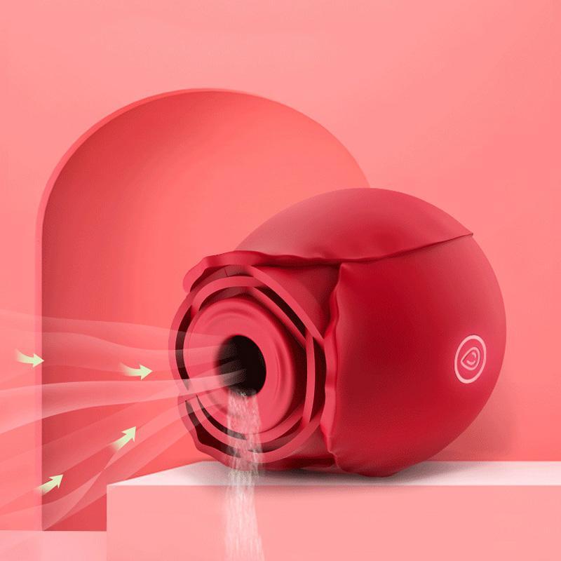 Rose vibrateur clitoral sucer la languette d'aspiration intense lick clit stimulateur stimulateur masseur sex toys pour femme orale