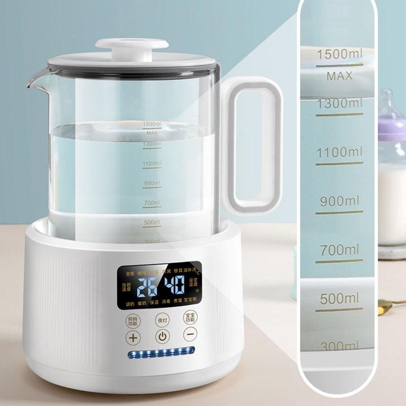 Glass electric kettle milk mixer Baby Bottles Warmer Smart thermostat bottle Heater