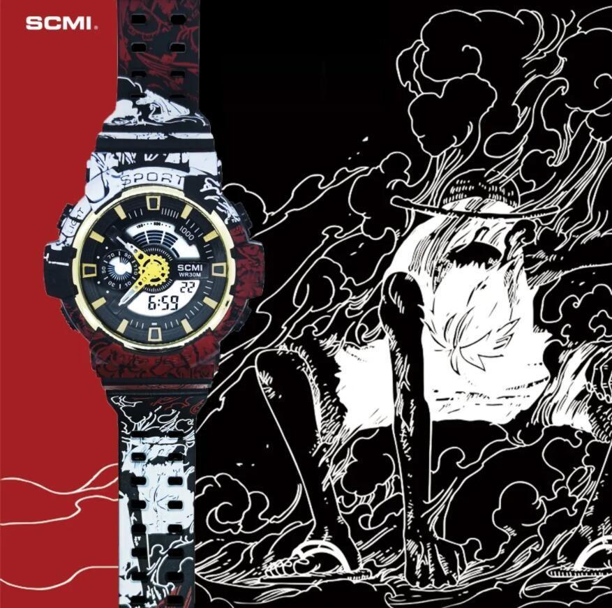 SCMI Watches 2021 Mode Luxurys Herren Womens Digital LED Sport Männer Outdoor Electronic Uhren Sockel Dual Display Analog Armbanduhr