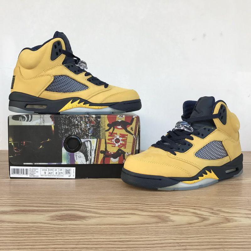 Air Jordan 5s Basketball Shoes Top Quality OG Product