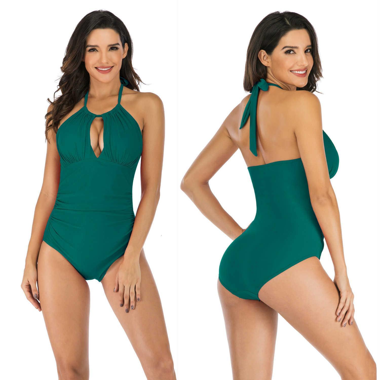 Bikini 2021 Mulheres de maiô parece fino e conservador