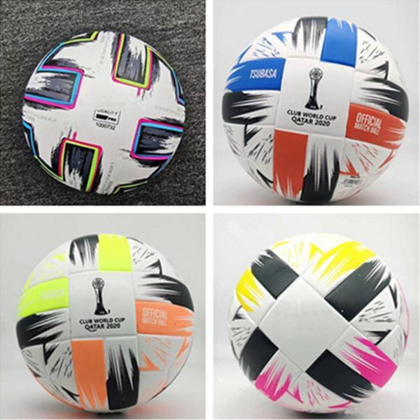 أعلى جودة كأس أوروبا الكرة القدم 2021 النهائي كييف بو حجم 5 كرات حبيبات زلة مقاومة لكرة القدم