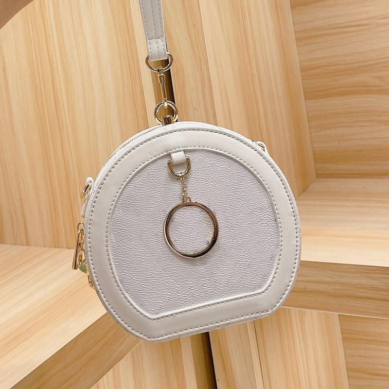 Sacs ronds à main mains sacs à main Femmes sac à main Mode Médiéval Tissu Presbyopia Tissu Pure Acier Hardware Accessoires Sangle d'épaule réglable