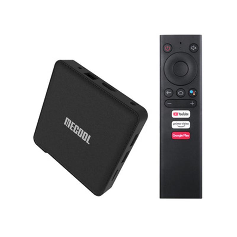 MECOOL ATV KM1 2GB+16GB set-top TV box 2T2R wifi Android 10.0 4K HD network player free DHL
