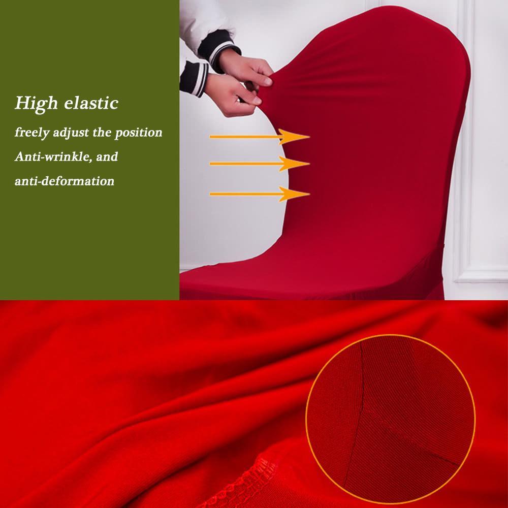 Spandex silla silla cubiertas de silla elástica silla lavable cubierta de asiento para comedor bodas banquete fiesta decoraciones de hotel ju0048