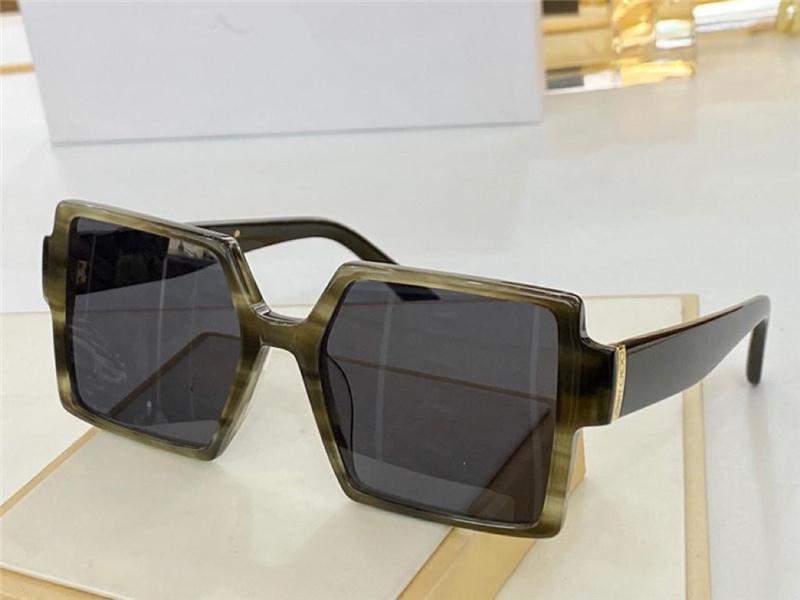 0328 Advanced New Hot Women Moda Óculos de Sol Retro Estilo Quadrado Quadrado Com Lantejoulas de Cristal Anti-UV400 Proteção Óculos Vem com Paco