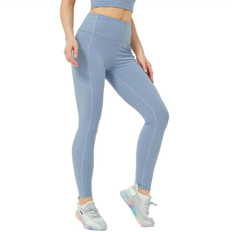 Pantaloni a vita alta da donna Pantaloni Tummy Control dimagrante bottino allenamento in esecuzione leggings yoga