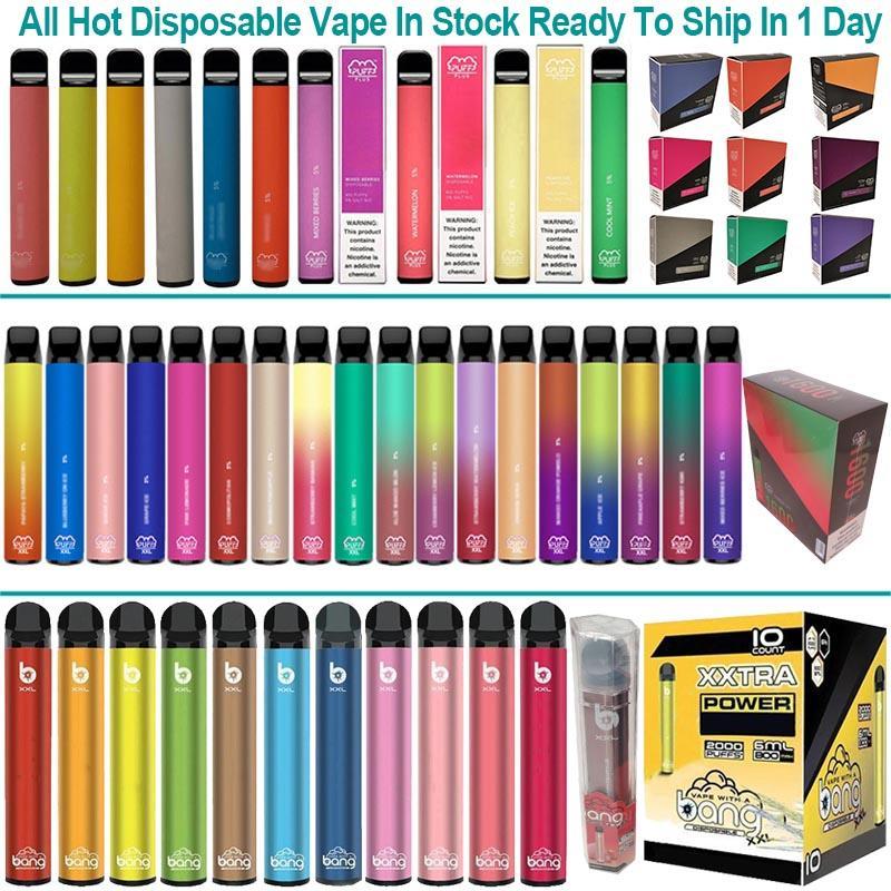 Barra de Puff de alta qualidade mais caneta de vape descartável cigarros eletrônicos 800 puffs kit de partida disposição pod e-cigarros vaporizer
