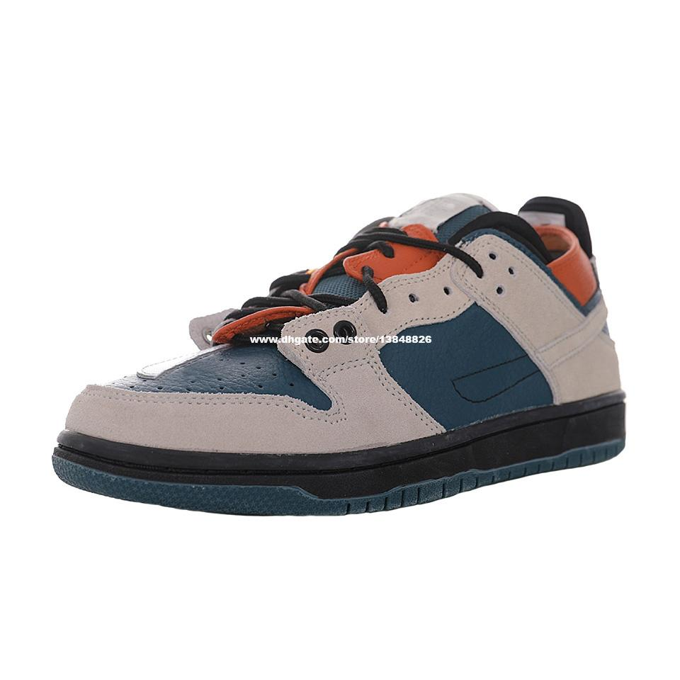 Jumpman Ziv Lee Sean Coriver Dunks Scarpe da skate a basso costo per uomo Ejder Sneaker Mens Skates Sneakers Delle Scarpe sportive da donna Donne Skateboarding BQ6817-800