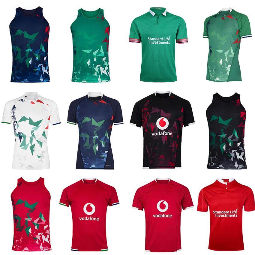 2021 2022 Top Britannico Irish Lions Rugby Soccer Jersey 20 21 Casa Away Shirt da allenamento Taglia S-5XL