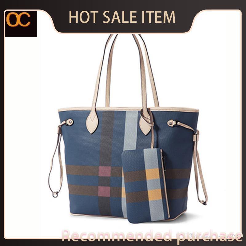 Sacchetto cosmetico da donna classico Varietà di tela di cuoio OC2021 Top Borsa a mano Combinazioni ricoperte Consegna di qualità FREE Fashion Varia e Nkor