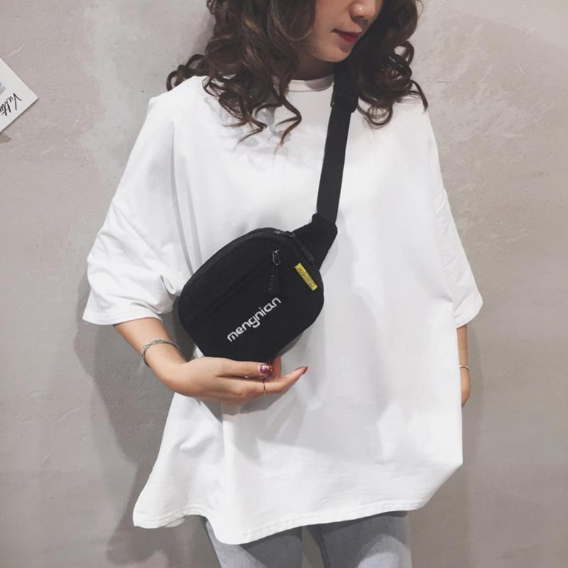 Kadın Kadife Bel Çanta Bayanlar Tasarımcı Tuval Fanny Paketi Moda Çanta Omuz Crossbody Kadın Bum Kemer Çanta # 12
