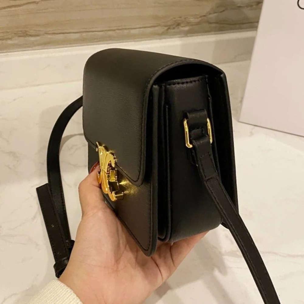 Анна Лиза маленькая квадратная кожаная арка de Trimphe TOFU One плечо женщина женская сумка мода