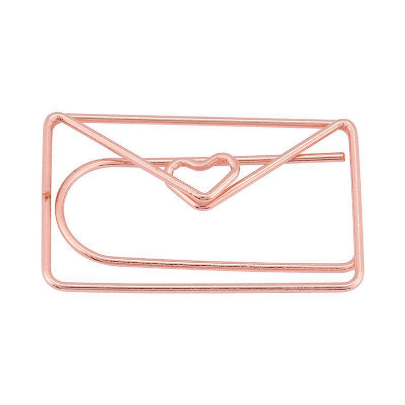 Fournitures Fournitures 12 pcs Enveloppe décorative Forme Papier Panneau de signet Organisation de documents