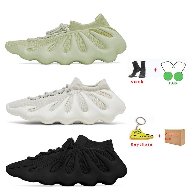 2021 KANYE 450 Hommes Chaussures de course pour femmes Nuage White Blanc Dark Sky Résine Résine Respirant Sports Sneaker Sneaker Taille 36-45