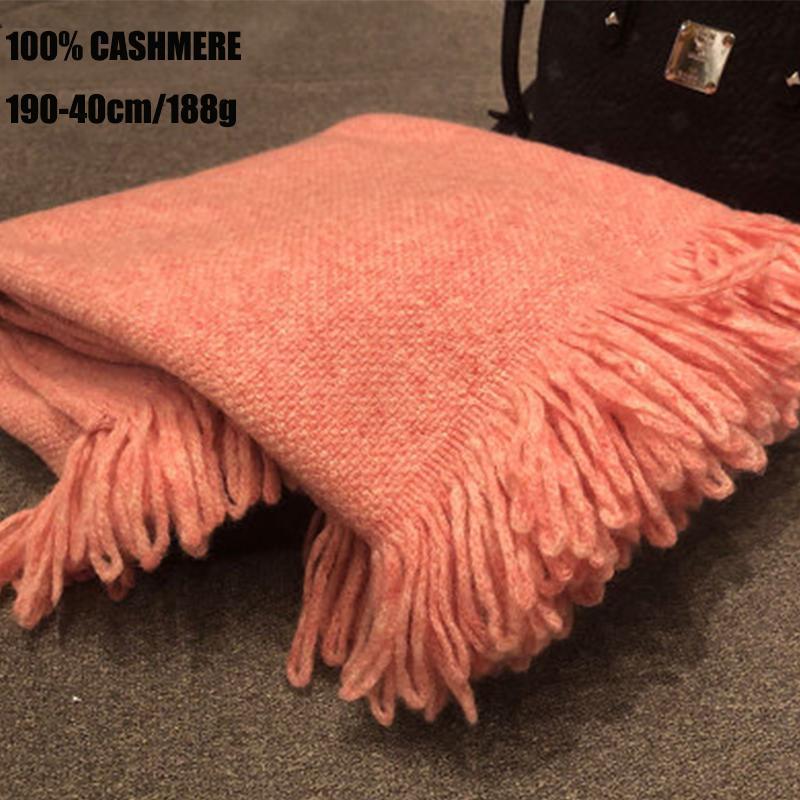 여성 캐시미어 스카프 100 니트 술을 가을과 겨울 중공 프레 린 따뜻한 스타일 두꺼운 스카프