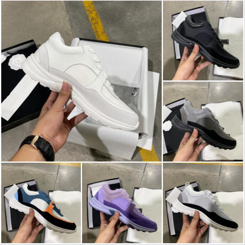مصمم حذاء رياضة الرجال النساء عاكس عارضة أحذية جلد طبيعي أحذية رياضية حزب المخملية كالفسكين مختلطة الألياف أعلى جودة الحذاء مع مربع حجم 35-46