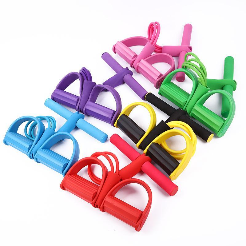 Yoga Fitness Rally Band Sit-up Aid Rope Pedal Workout Equipments Exercise Accessories Resistance Bands