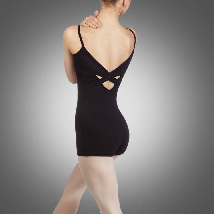 Erwachsener Halfter Shorty Unitard A2622 Ballett-Tanz-Unitarks-Großhandel Gymnastics Wear
