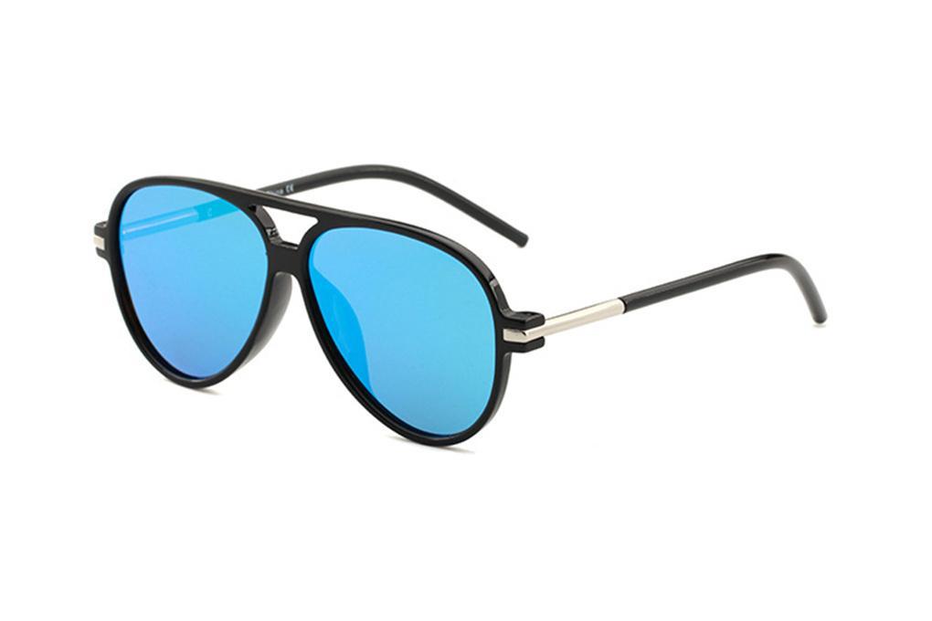 مصمم مربعة النظارات الشمسية الرجال النساء خمر ظلال القيادة الشمس النظارات الذكور نظارات الشمس الأزياء المعادن لوح Sunglas نظارات 436