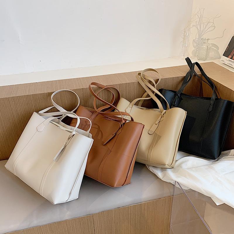HBP fashion women's handbag trendy large-capacity single-handle shoulder bag shopping bags totes