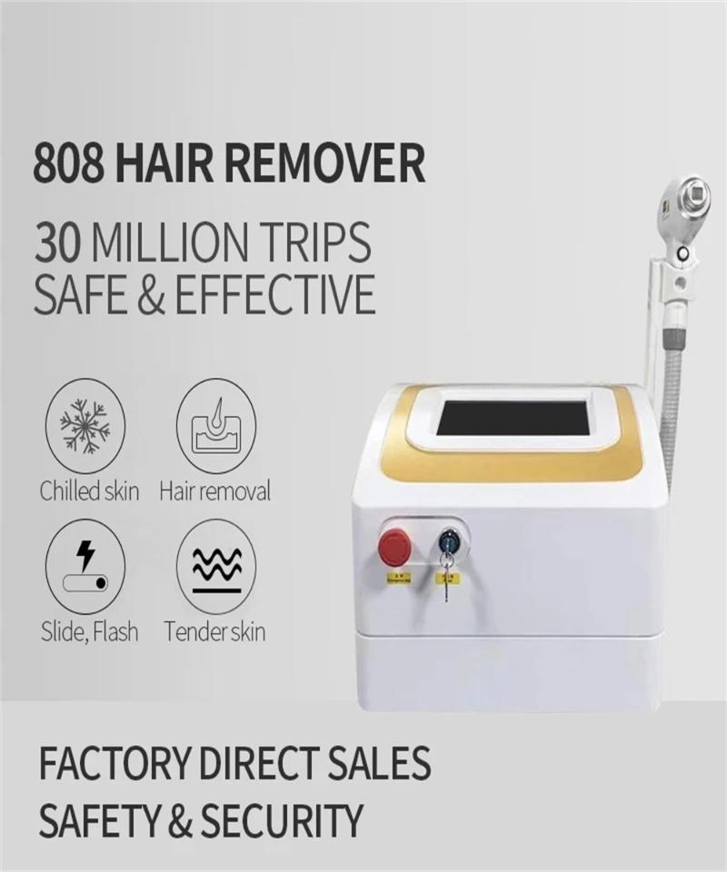 Cleaning 2021 Test 808 Diode Laser Hair Remvoal Machine 20 Million Ss Fast And Painless Removal Device