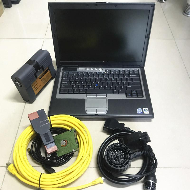 Ferramentas de diagnóstico para ferramenta ICOM A2 com D630 Laptop 4G 1TB HDD Software completo V2021.03 pronto para trabalhar