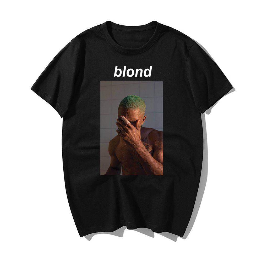 De Moda Rapero Frank Rubio Impresin Camisa Harajuku T Shirts Casual Algodn Manga Corta Verano Nueva Camiseta Hip Hop Para