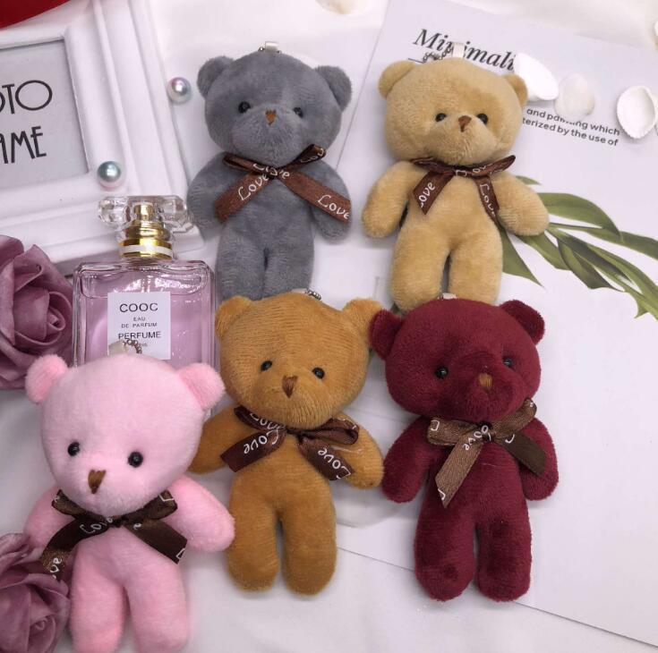 20 pcs ursinho de peluche pendente pendente pendurar adorno bonecos de pelúcia brinquedos de pelúcia presentes pequenos