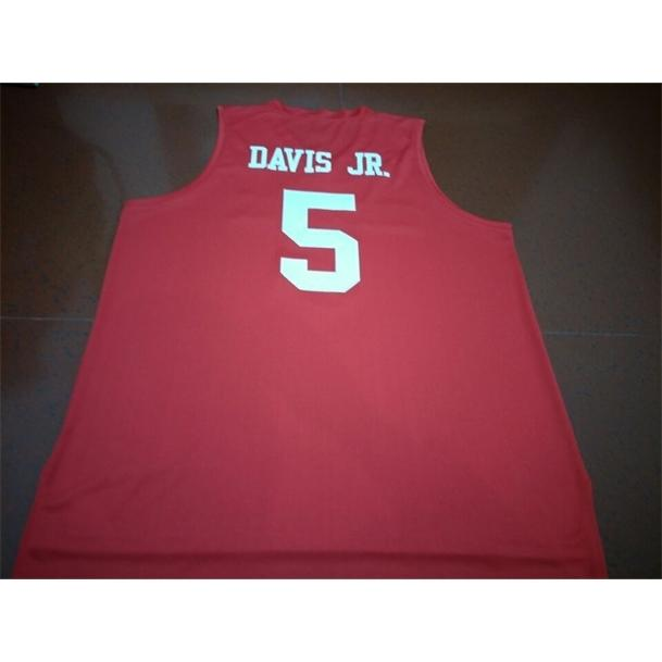 Erkekler Gençlik Kadınlar Hou Coars Dejon Jarreau # 13 Corey Davis Jr # 5 Armoni Brooks # 3 Formalar Basketbol Özel Boyut S-5XL