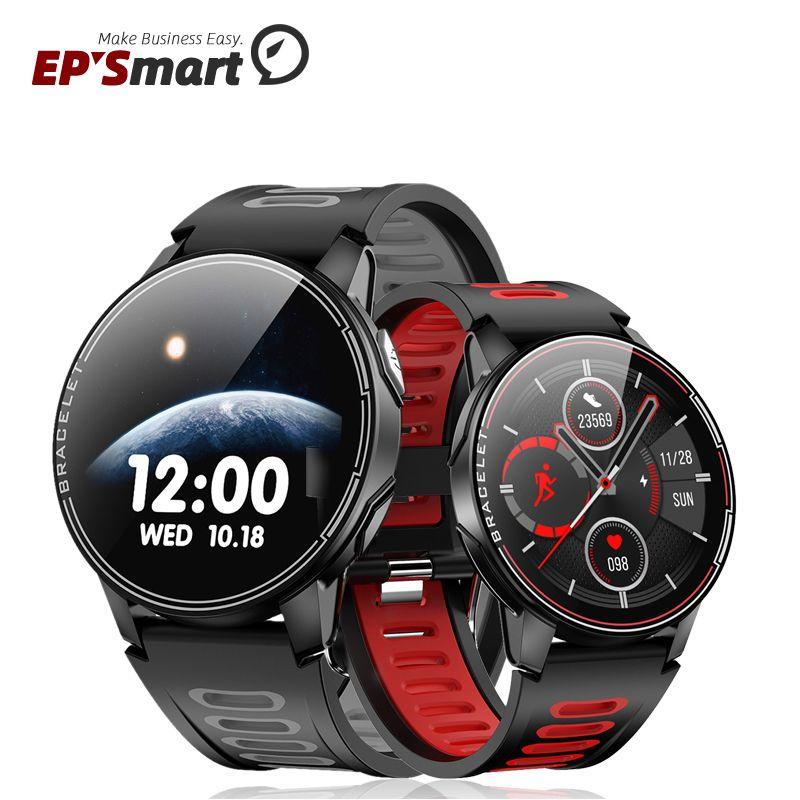 L6 Smart Watch Men Women 1.3 Inch IP68 Waterproof 350mAh Long Standby Heart Rate Fitness Tracker Blood Pressure Sport Smartwatch