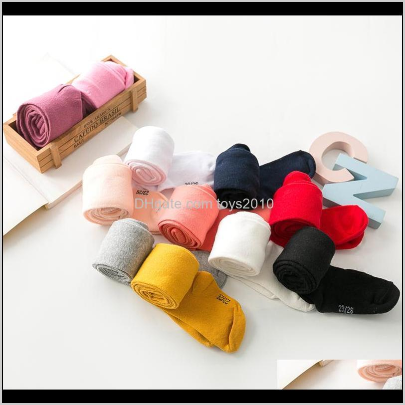 Childrens Athletic Outdoor Apparel Baby, Kids & Maternity Drop Delivery 2021 1Pcs 0-6Yrs Children Baby Clothing Cotton Pantyhose Infant Knitt