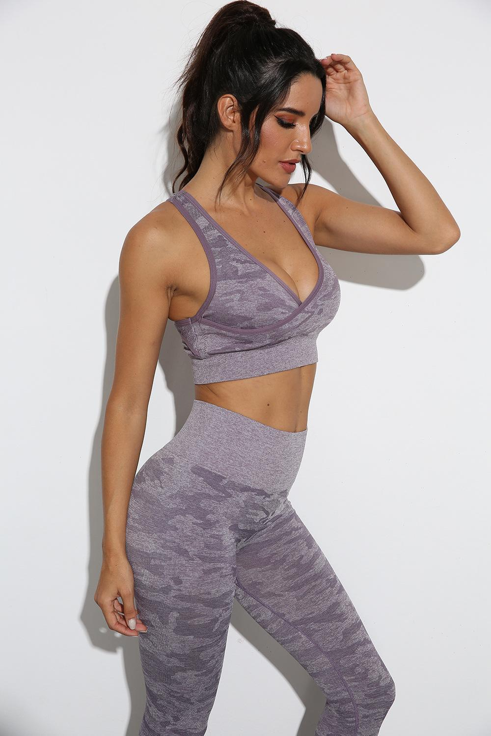 Tracksuits Designer yoga set V-Neck sexy t shirts Womens Yoga Outfits Suit Gym wear Sportswear Fitness s Bra Align Leggings pants workout