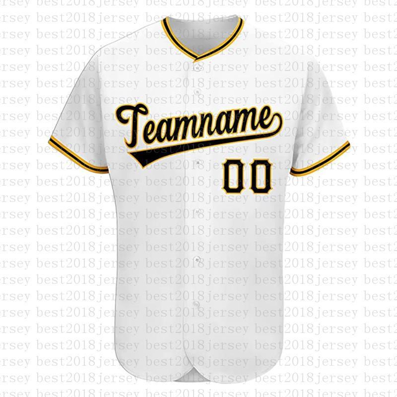 مخصص pittsburgh الجدة زر أسفل البيسبول الفانيلة شخصية مراوح قميص للرجال تيماني الاسم والعدد للهدايا مخيط الأبيض