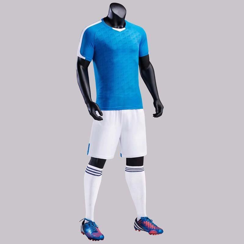 Hommes Enfants Football Jerseys 2018 Training Soccer Jerseys Sport Sports Team Jeux Jersey Uniformes Set Shirt + Shorts 3xs-3XL
