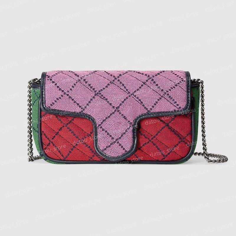الأزياء المصممين المصممين حقائب نسائية حقائب اليد المحافظ متعدد الألوان crossbody حقيبة الكتف مصغرة messager محافظ sacs à المصمم الرئيسي 2021