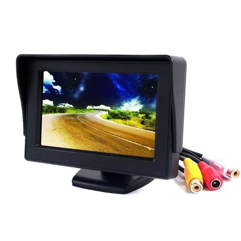 Universal 4.3 Auto Vista posteriore Telecamere Sensori di parcheggio