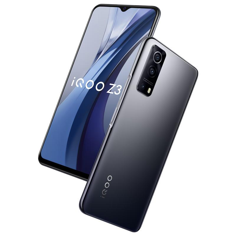 "Original vivo IQOO Z3 5G Handy 6GB RAM 128 GB ROM Snapdragon 768g Octa Core Android 6.58 ""LCD Vollbild 64MP otg 4400mAh Fingerabdruck ID FACE WACK SMART Handy"