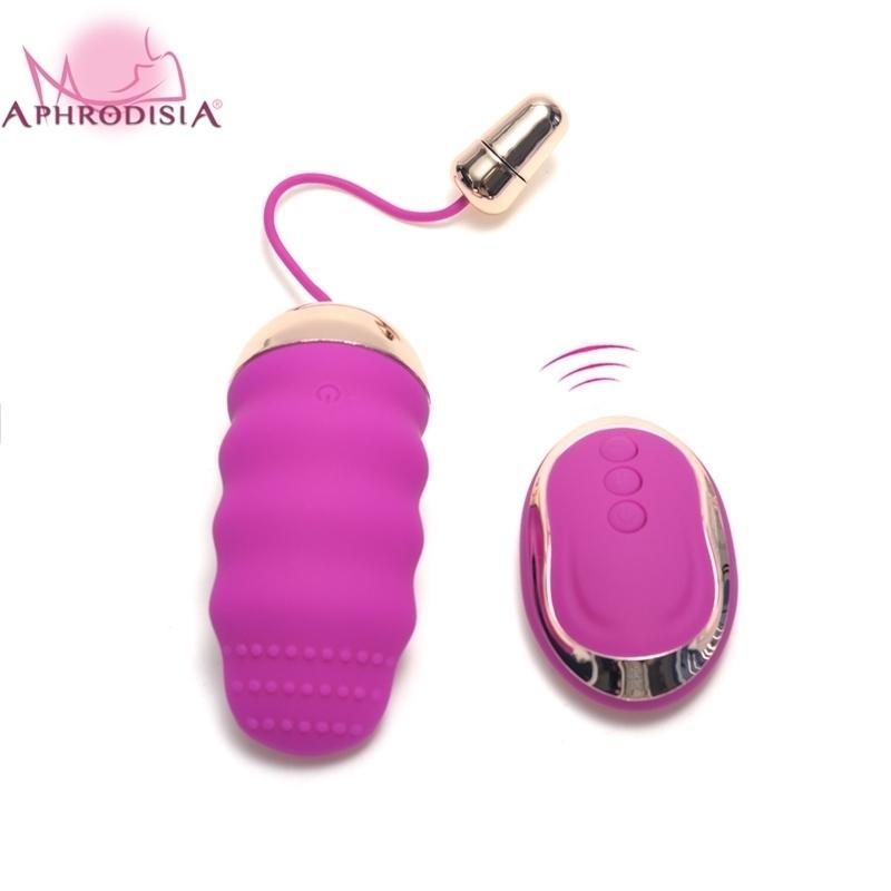 Afrodisia USB Wireless Remote Kegel Balls G Spot Vibrating Huevo Ben WA Clítoris Estimulador Vibradores Adultos Juguetes sexuales para mujeres 210329