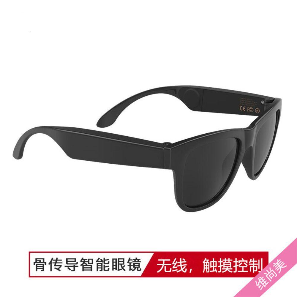 Солнцезащитные очки GlasseS2021 Новый G1 Костная проводимость Bluetooth Очки Беспроводные Trend Солнцезащитные Очки Интеллектуальные Черные Технологии Музыкальные Очки