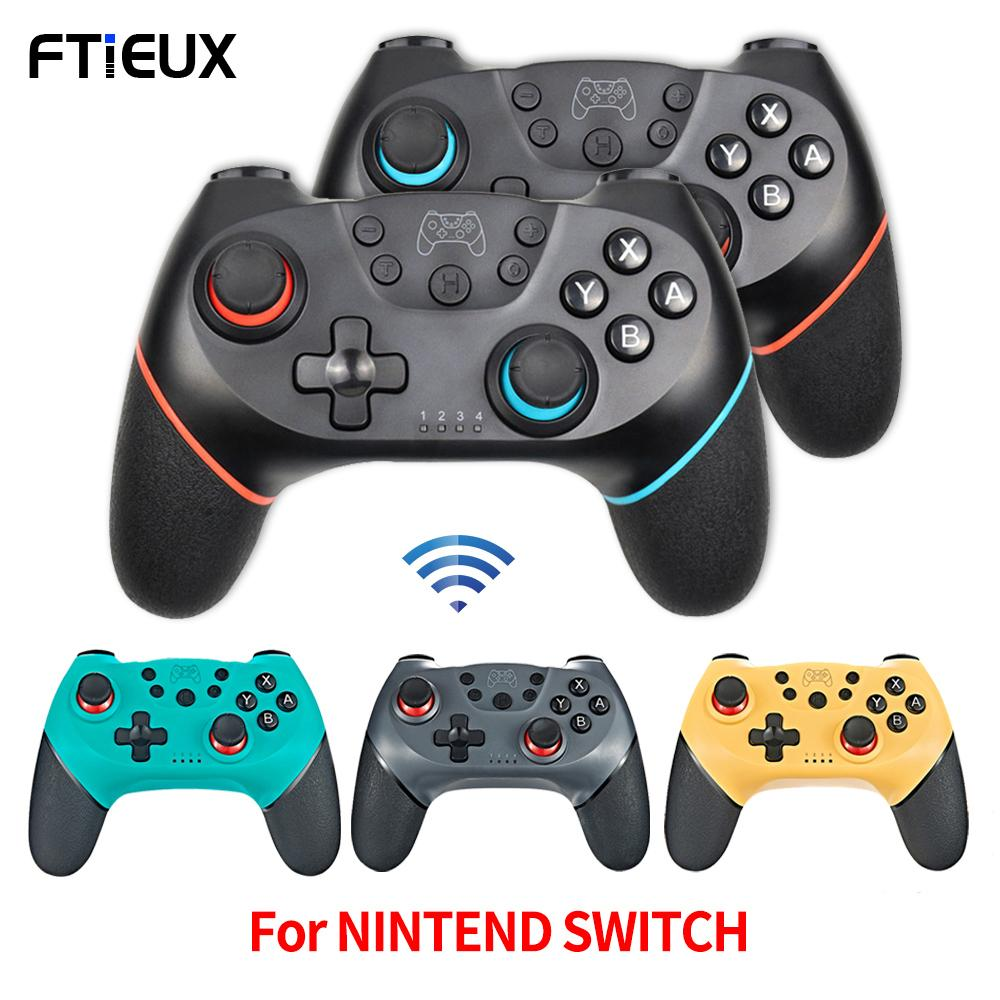 Bluetooth Wireless Controller For Nintend Switch Pro Console Gamepads NS Switch Pro Game Joystick with 6-Axis Handle For N-SL 210317