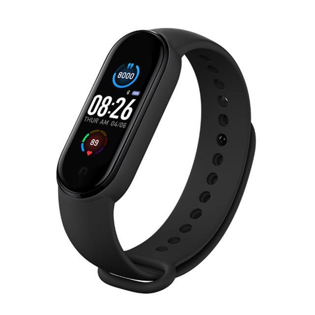 M5 Smart Watch Mulheres Homem Bluetooth Pulseiras Impermeáveis Frequência Coração Pressão Sanguínea Homens Health Pulseira Pulseira