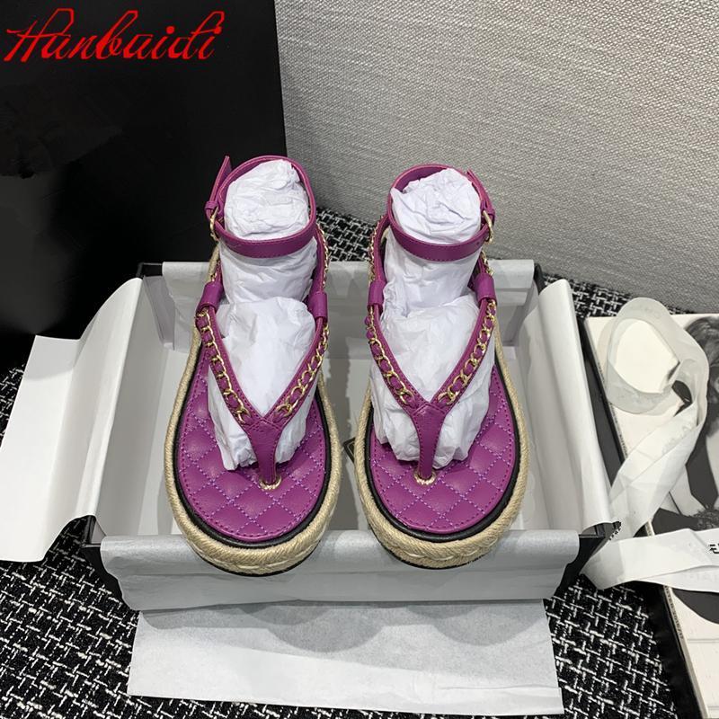 Zihinsel Chian Flip Flop Rahat Ayakkabılar Kadın Düz Dropship Rahat Sandalet Kadın Kadınlar Yaz Ayak Bileği Kayışı