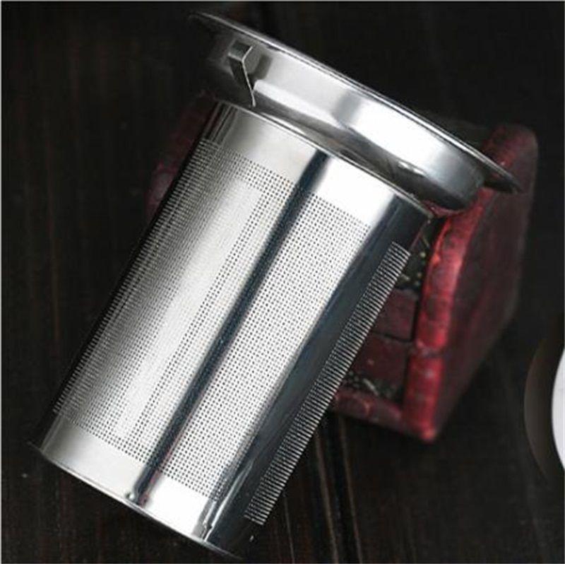 Limpar borossilicato bule de vidro com filtro infusor de aço inoxidável transparente elegante chá de vidro xícara de chá bule de chá branco 304 s2