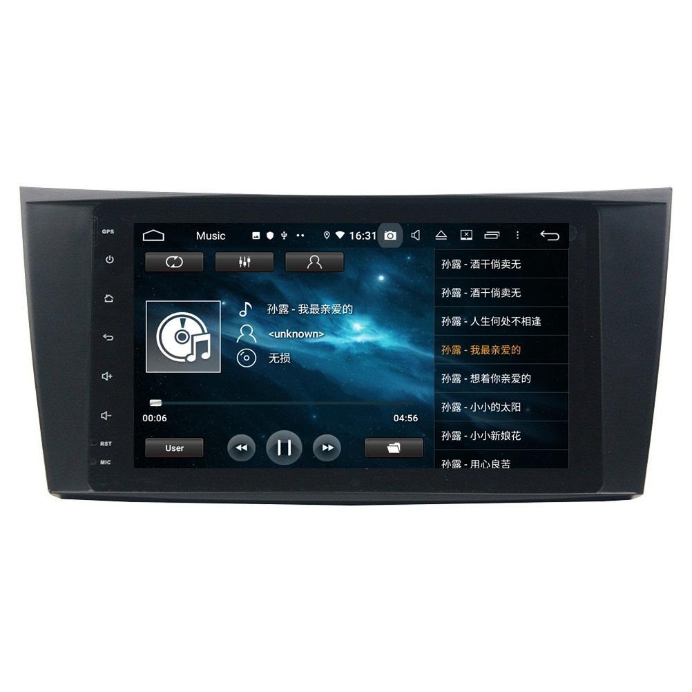 Carplay Android 자동 PX6 안드로이드 10 자동차 DVD 라디오 GPS 메르세데스 벤츠 E-Class W211 E200 E220 E240 E270 E200 E280 2002-2008 / CLS 클래스 W219 CLS-350 / CLS-500 / CLS-55 2006 2006