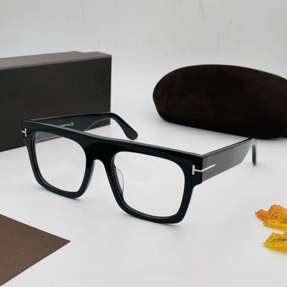 2021 retro tom tf5634 quadro óptico homens vintage enorme quadrado miopia computador óculos Fram para homens óculos de sol