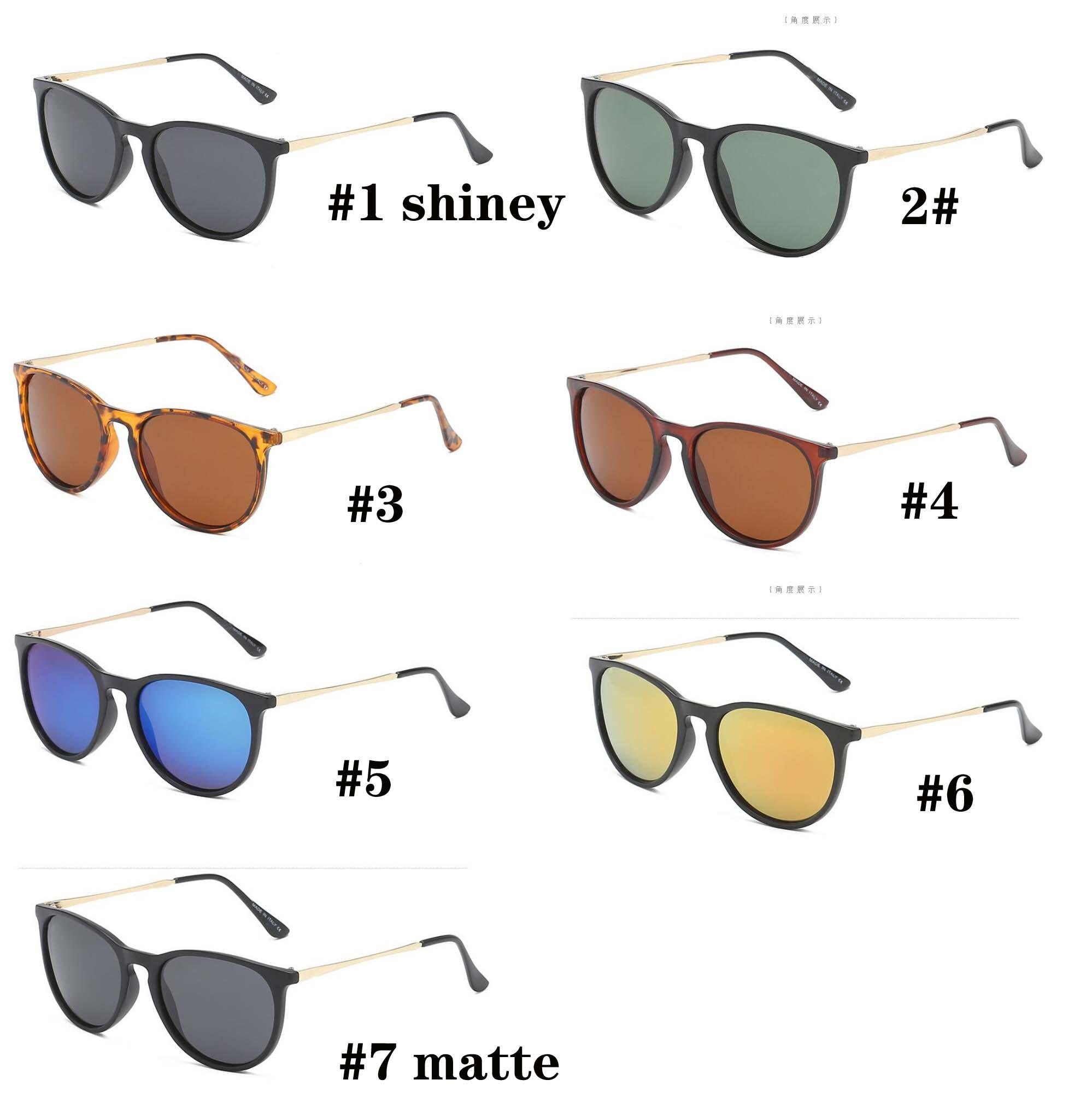 Estate uomo moda dazzle colore polarizzato occhiali da sole donna bicchiere occhiali da ciclismo sport unisex sole bicchiere spiaggia di guida Sunglasse Metallo