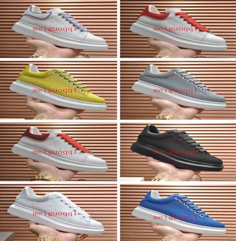 2021 حذاء عارضة، S مع boxtop جودة الرجال المرأة الدانتيل الدانتيل جميل لطيف أحذية الرجال يومية مدرب نمط الحياة سكيت حجم الحذاء 35-45